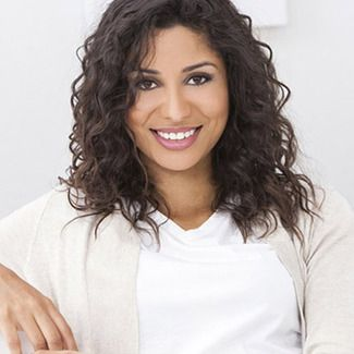 Young woman with a healthy, radiant smile.
