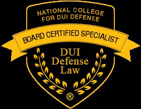 NCDD - DUI Board Certified Lawyer