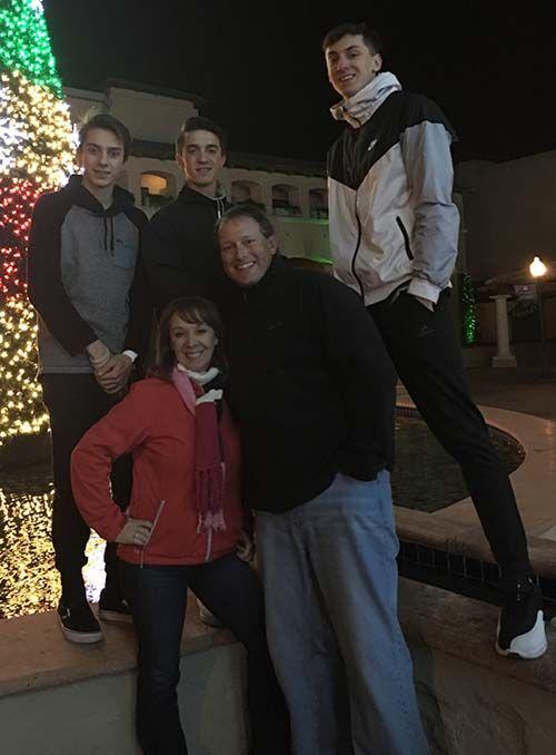 Dr. Gerken and family