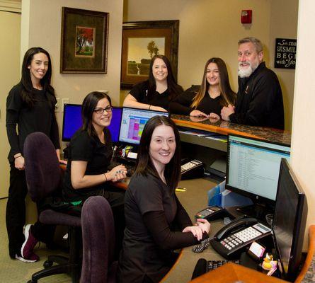 front desk staff