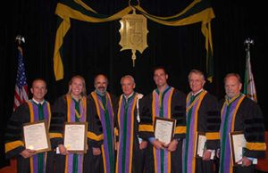 Dr. Kenneth Bagby's Induction as a Fellow of the International College of Dentists