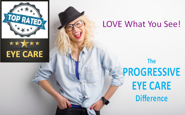 Progressive Eye Care is a top-rated eye care office.