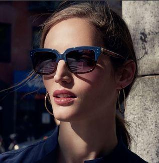 Anne Klein eyeglass frames.