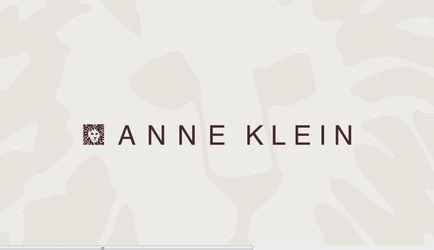 Anne Klein logo.