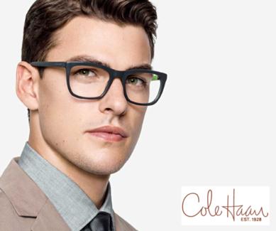 Cole Haan eyeglass frames.