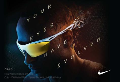 Nike sunglass frames.
