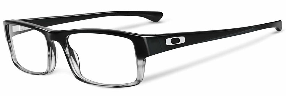 Oakley Tailspin eyeglass frames with black fade.