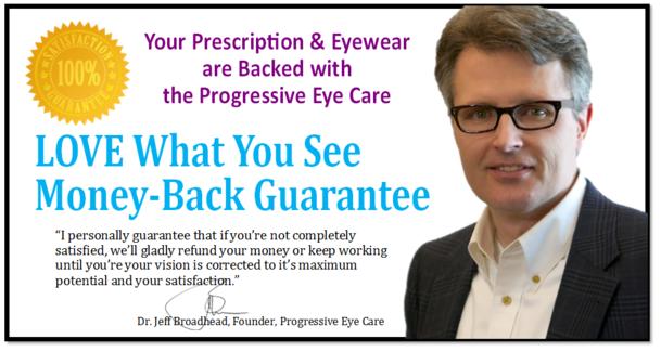 Money-back guarantee from Dr. Jeff Broadhead.