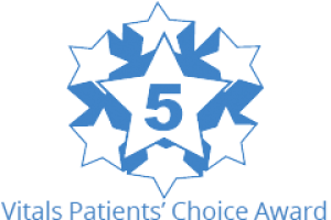 Vitals Patient's Choice Award logo
