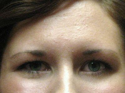 before permanent makeup