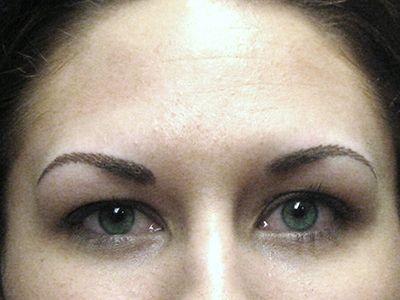 after permanent makeup