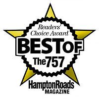 Reader's Choice Award Best of the 757 Hampton Roads Magazine Award