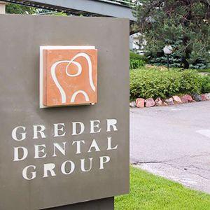 Greder Dental Group outdoor sign