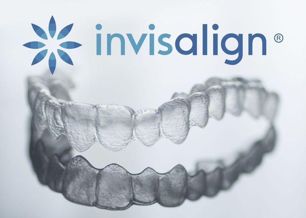 Invisalign aligner trays for invisible orthodontics