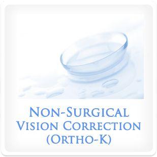 A contact lens.