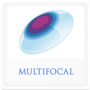 Multifocal contact lenses.