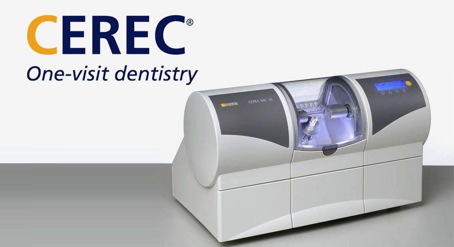 CEREC® marketing image.