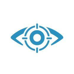 Eye surgery icon