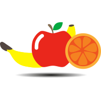 icon of a normal fruit bowl