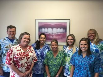 Gentle Family Dentistry Team Photo