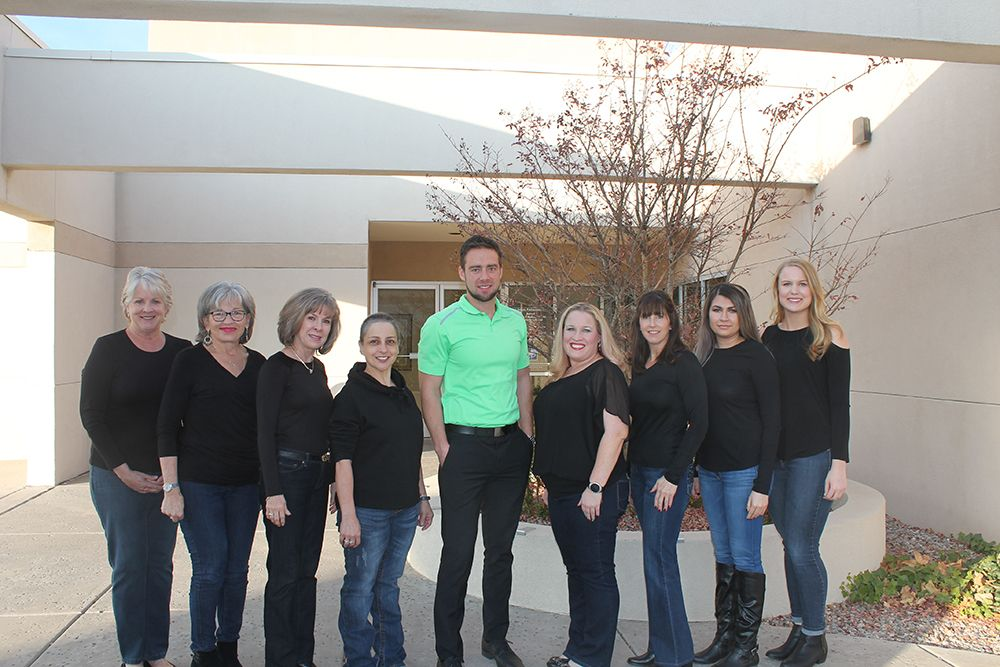 The dental team at New Mexico Smile Center.