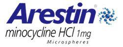 Arestin® logo.