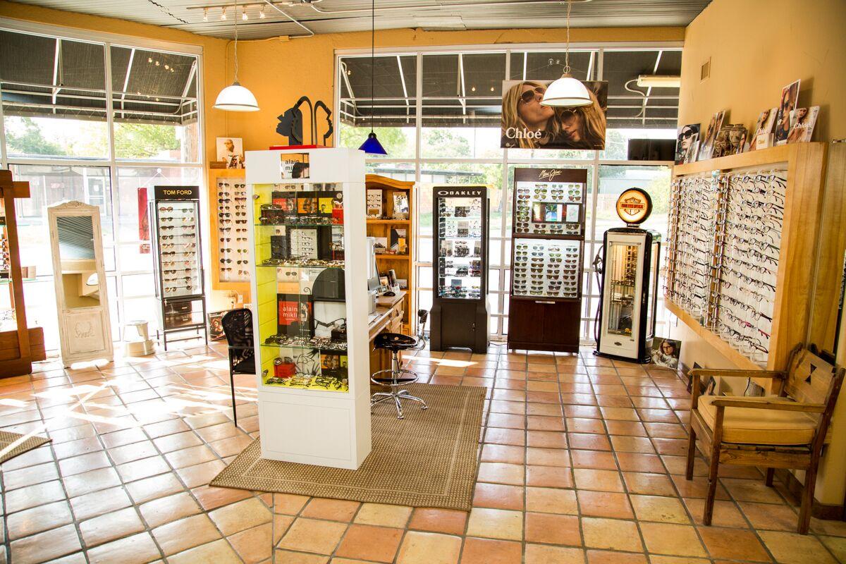 Medina Eye Care optical shop