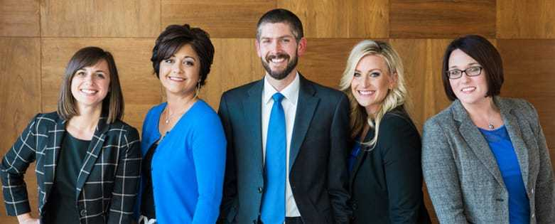 The legal team at Mathis, Bates & Klinghard PLLC